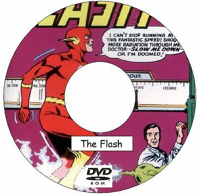 The Flash Comic Collection 355 Issues on 2 DVDs