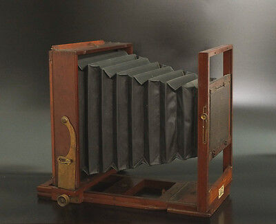 Antique Wooden Camera 8x10 Large Format wet plate 18x24 Holzkamera