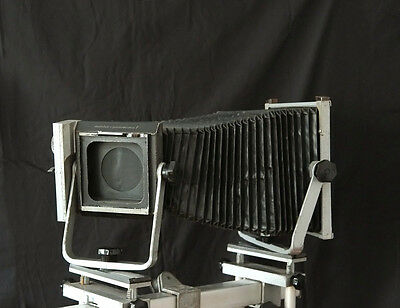 Mentor Rail Camera 8x10 with shutter!! Large Format wet plate