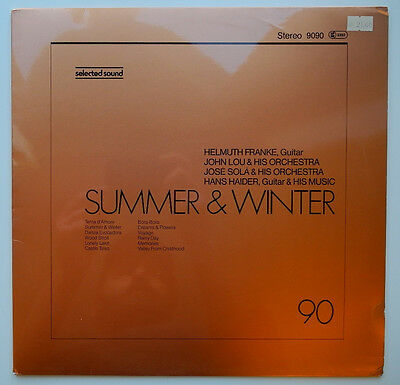 ★★Lp De**various - Summer & Winter (Selected Sound '81)★★15717