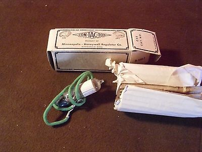 Vintage Con-Tac-Tor Mercury Switch, Never Used, Original Wrapping And Box