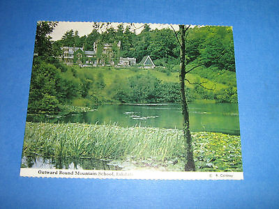 Vintage Postcard Outward Bound Mountain School Eskdale 1970s CUMBRIA