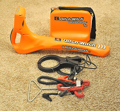 Utiliguard 5 watt Ditch Witch Subsite 950 cable pipe utility locator T5 Clamp