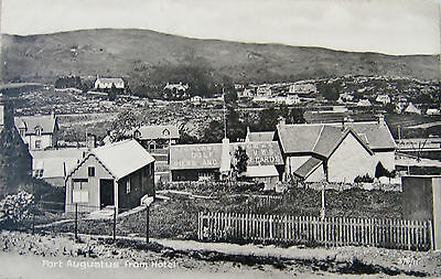 Early Printed Postcard, Fort Augustus from Hotel..