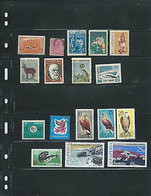Albania Used Stamps 17 Items Nice