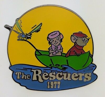 Disney Countdown to the Millennium 35 of 101 The Rescuers Pin 711 Trading Movie