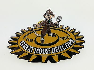 Disney Countdown to the Millennium 27 of 101 Great Mouse Detective Pin 538 Basil