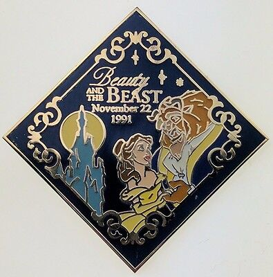 Disney Countdown to the Millennium 41 of 101 Beauty and the Beast Pin 708 Trade