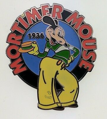 Disney Countdown to the Millennium 98 of 101 Mortimer Mouse Pin 682