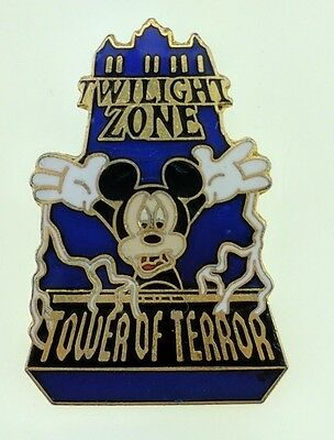 Disney MGM Studios Twilight Zone Tower of Terror with Mickey Pin 846 Trading