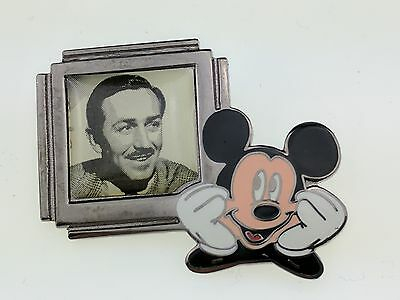 Disney Countdown to the Millennium 101 of 101 Walt Portrait and Mickey Pin 417
