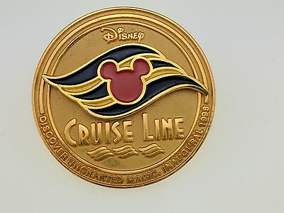 Disney Cruise Line Inaugural 1998 Trading Pin 58 Discover Uncharted Magic