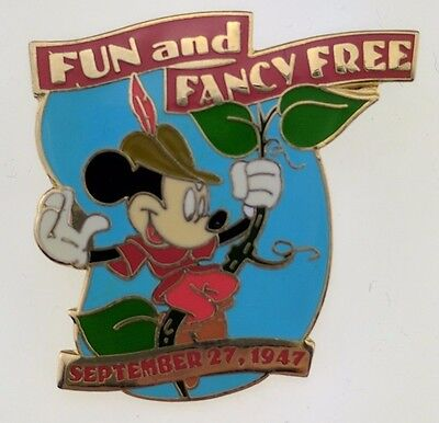 Disney Countdown to the Millennium 97 of 101 Fun and Fancy Free / Mickey Pin 683