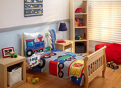 Everything Kids Toddler Bedding Set Choo Choo