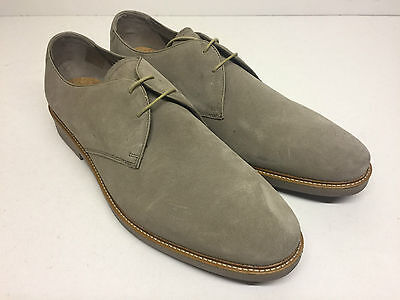 Men's New Beige Clarks Lace Up Suede Formal Casual Shoes (Style 3) Size UK 11