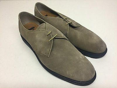 Men's New Beige Clarks Lace Up Suede Formal Casual Shoes (Style 4) Size UK 9