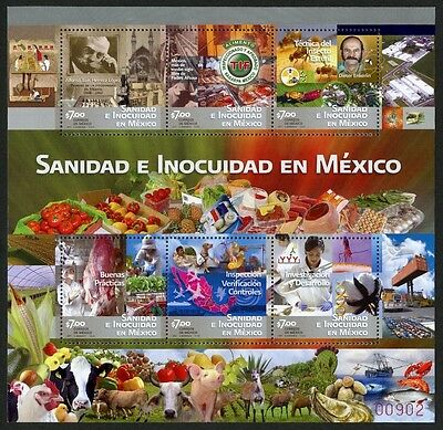 Mexico Scott #2757 MNH Agriculture & Food Safety 2011 $$