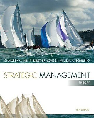 Strategic Management: Theory by Hill  Charles W. L. Paperback New  Book