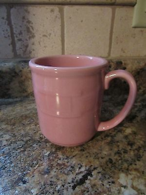 Longaberger Woven Traditions PINK Horizon of Hope Coffee Cup Mug NEW