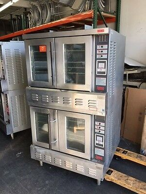 Lang GCCO-II Natural Gas Double Deck Convection Oven