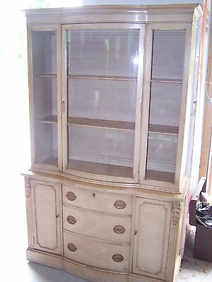China Hutch and Table with 6 chairs