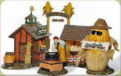 Department 56 Snow Village ROLLING ACRES CORN MAZE Set of 2 805506 BNIB Retired