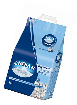 Catsan Hygiene Cat Litter, 20 L Odour Protection Hygienic FAST FREE DELIVERY