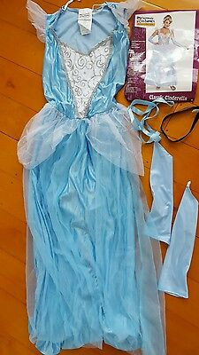 Classic Cinderella Adult Storybook Fairytale Fancy Dress Up Party Costume women
