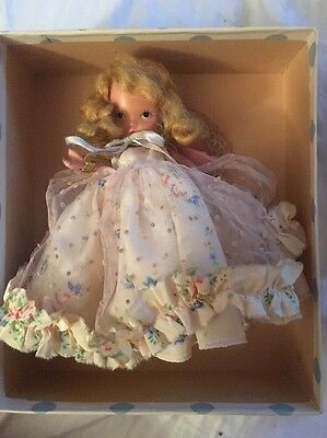 """Nancy Ann Storybook Doll #180 """"Monday's Child Is Fair Of Face"""" PT JT"""