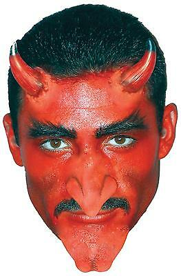 Ez Fx Devil Demon Horns Nose Chin Prosthetic Complete Makeup Kit Costume Csfx008