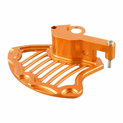Orange CNC Front Brake Rotor Disc Guard for KTM 250-500 XC-W EXC XCF-W 2016-Up