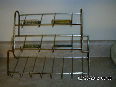 Vintage Wrigleys Chewing Gum Store Wire Display Rack Juicy Fruit
