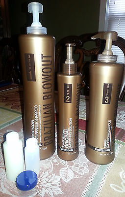 Brazilian Blowout Solution, residue Shampoo,Masque.Read carefully before buying.