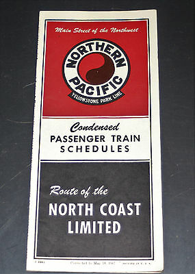 Northern Pacific - Condensed PTT - May 18, 1947