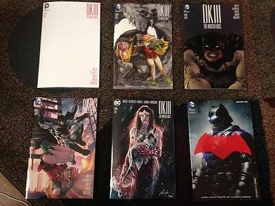 Dark Knight III Batman 50 SDCC Exclusive Variant Covers Lupacchino Pope Thompson