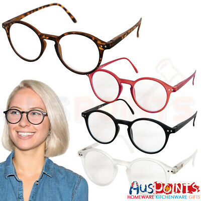 Mens Ladies Stylish Frame Magnifying Reading Glasses Spectacle
