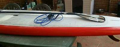 "JP Australia Stand Up Paddle Board 12'6"" X 30"" plus paddle and leg rope SUP"