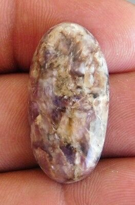24.9Cts Fab 100% Natural Purple Charoite Oval Shape Cabochon Loose Gemstone