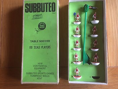 Vintage Subbuteo Team. Believed To Be Arsenal