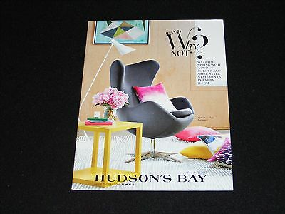 HUDSON'S BAY catalog booklet March 2015 We Say Why Not