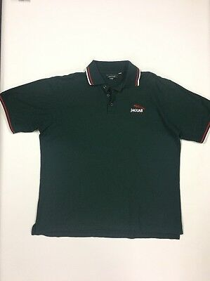 Jaguar F1 Team Racing Mens Polo top Shirt Size L Official Team Merchandise Car