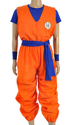 Dragon Ball Dragonball Anime 3 Teiliges Son Goku Cosplay Kostüm Costume