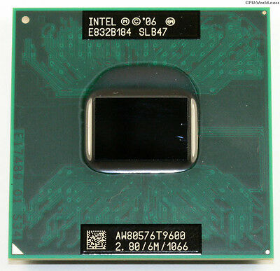 Procesador Core 2 Duo Mobile T9600 2.8GHz 6MB