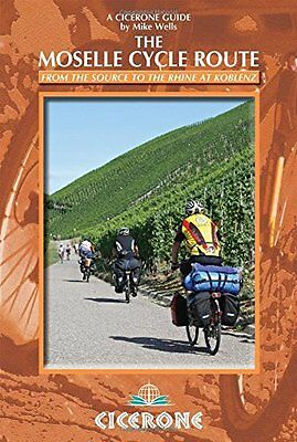 Moselle Cycle Route by Mike Wells New Paperback Book