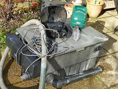 OASE Pond Filter/ UV Clarifier and Pondtec  Pump
