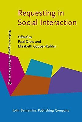Requesting in Social Interaction Hardback New  Book