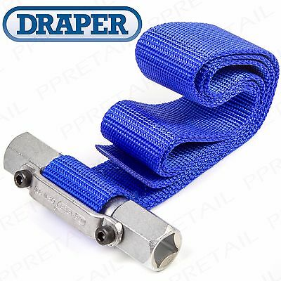 HEAVY DUTY Oil Filter Wrench LARGE Up To 300mm Strap Van/Truck Remover Grip Tool
