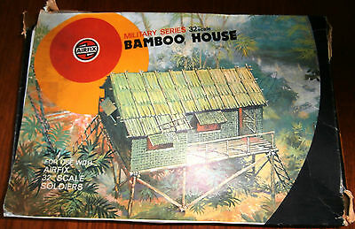 Airfix 1:32 Target Box Military Series Bamboo House. Complete
