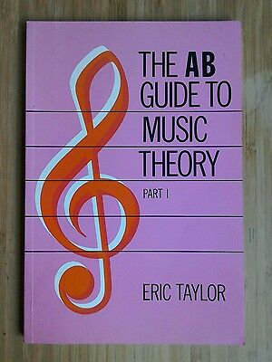 the AB guide to music theory by Eric Taylor learn music book