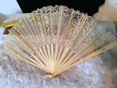 lAntique Vintage Oriental Japanese Chinese Fans for repair and Colectible